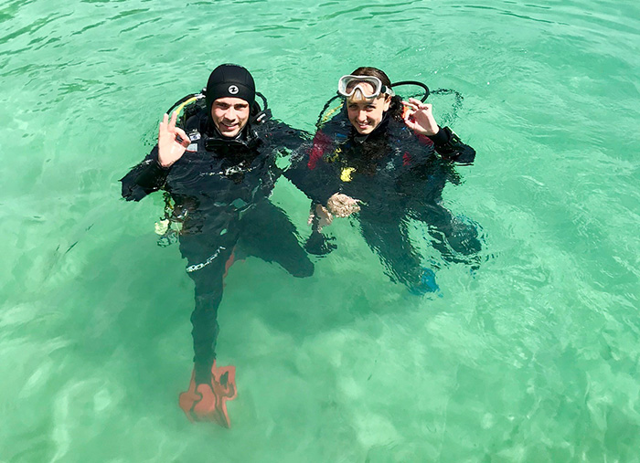 Instructor Diving Course Mallorca