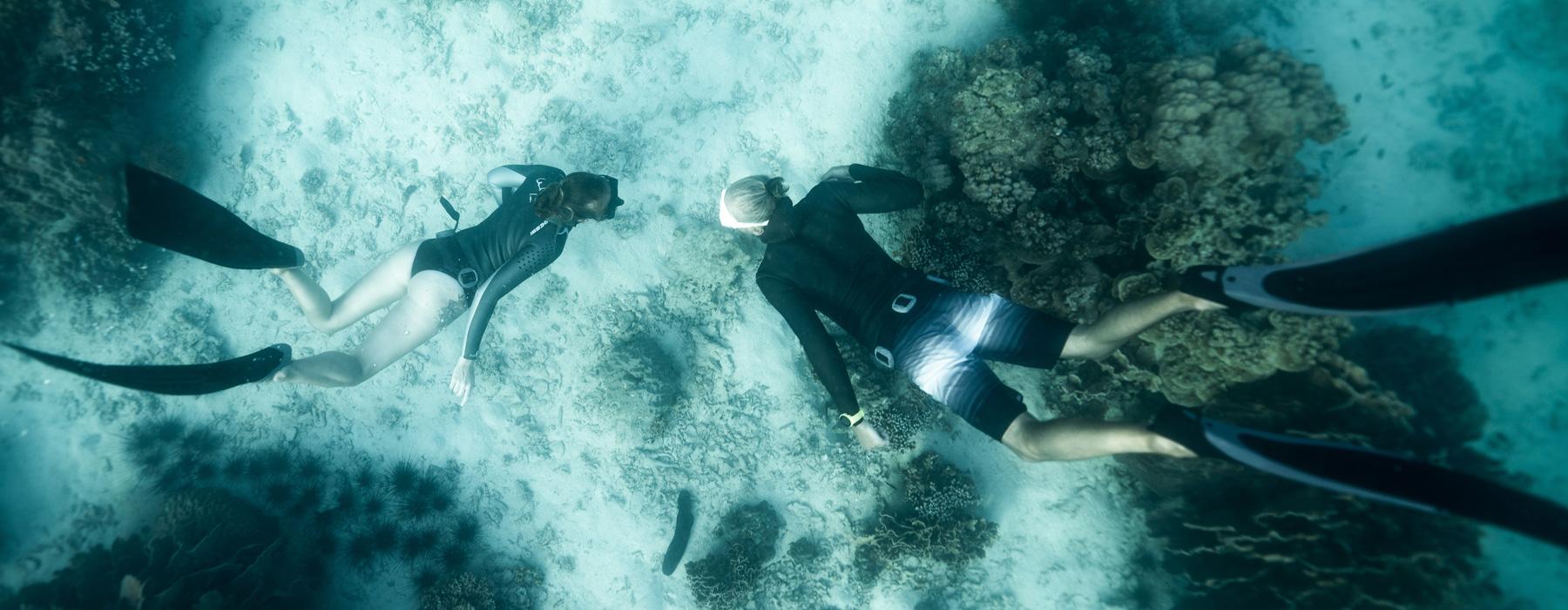 free-diving mallorca
