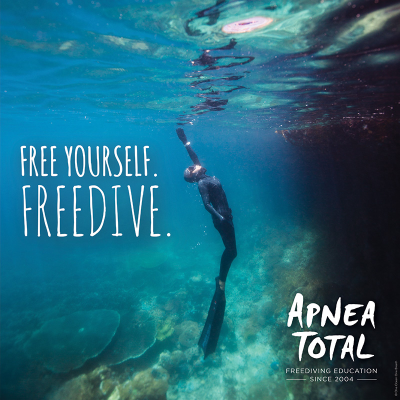 Free diving in Mallorca